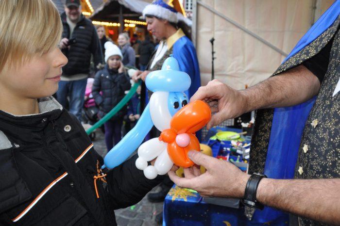 Comicfigur als Ballon